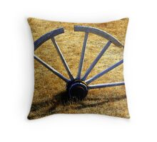 """Rolls No More"" Throw Pillow"