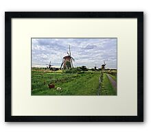Dutch Icon Framed Print