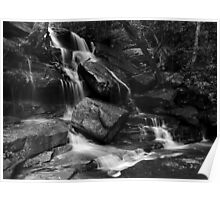 Bottom Somersby Falls - and Happy New Year! Poster