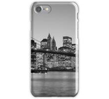 Brooklyn Bridge, New York - Black & White iPhone Case/Skin
