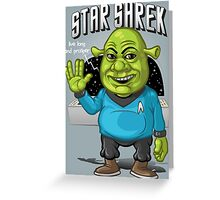 Star Shrek Greeting Card