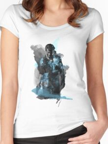 Uncharted 4 - Nathan Drake Design Women's Fitted Scoop T-Shirt