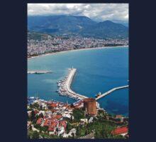a stunning Turkey landscape One Piece - Long Sleeve