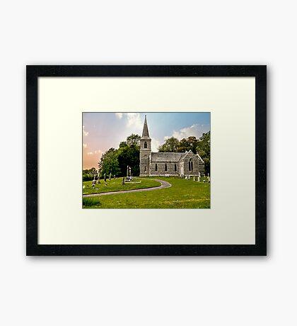 Church of St Nicholas Framed Print
