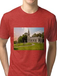 Church of St Nicholas Tri-blend T-Shirt