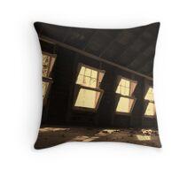 Windows to the Past Throw Pillow