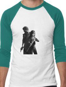 The Last Of Us - Ellie and Joel Design Men's Baseball ¾ T-Shirt