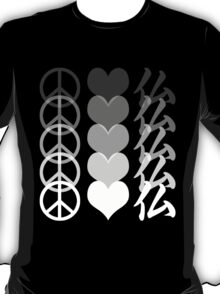 Peace Love and Buddha T-Shirt