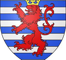 City of Luxembourg Coat of Arms by abbeyz71