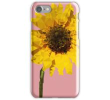 Meshed Up Sunflower iPhone Case/Skin