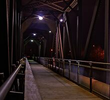 Dark Bridge Crossing by RandiScott
