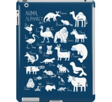 Animal Alphabet #2 iPad Case/Skin