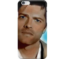 Castiel in Blue iPhone Case/Skin