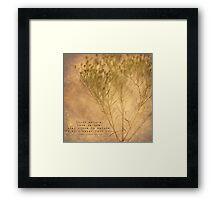 Study Nature Framed Print