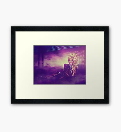 RuPaul - Born Naked Design Framed Print