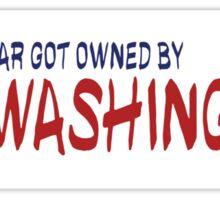Mt Washington Fail Sticker