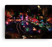 Night in the Sunken Garden(2) Canvas Print