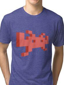 SPACE INVADER Tri-blend T-Shirt