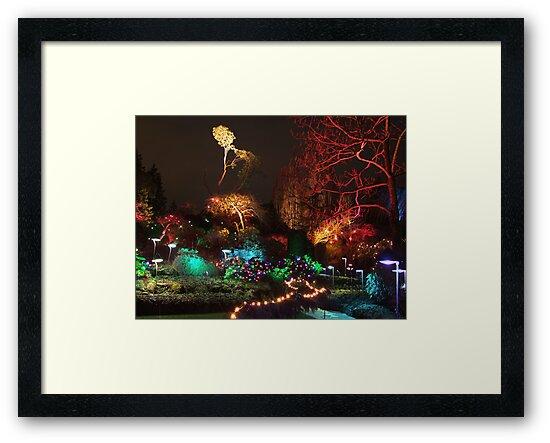 Night in the Sunken Garden (3) by George Cousins