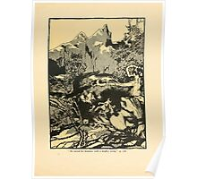 The Land of Enchantment by Arthur Rackham 0135 He Raised His Hammer With a Mighty Swing Poster