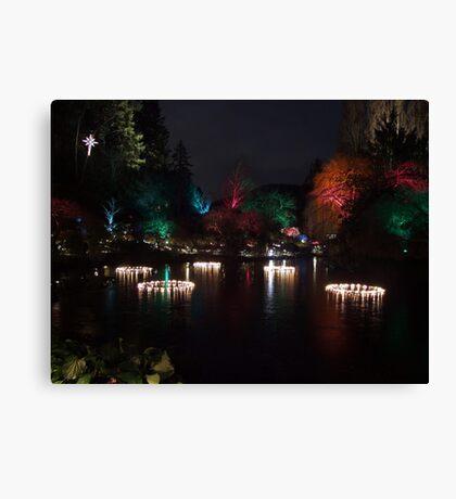 Night in the Sunken Garden (5) Canvas Print