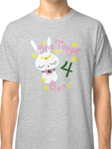 Tough Jupiter Bunny Classic T-Shirt