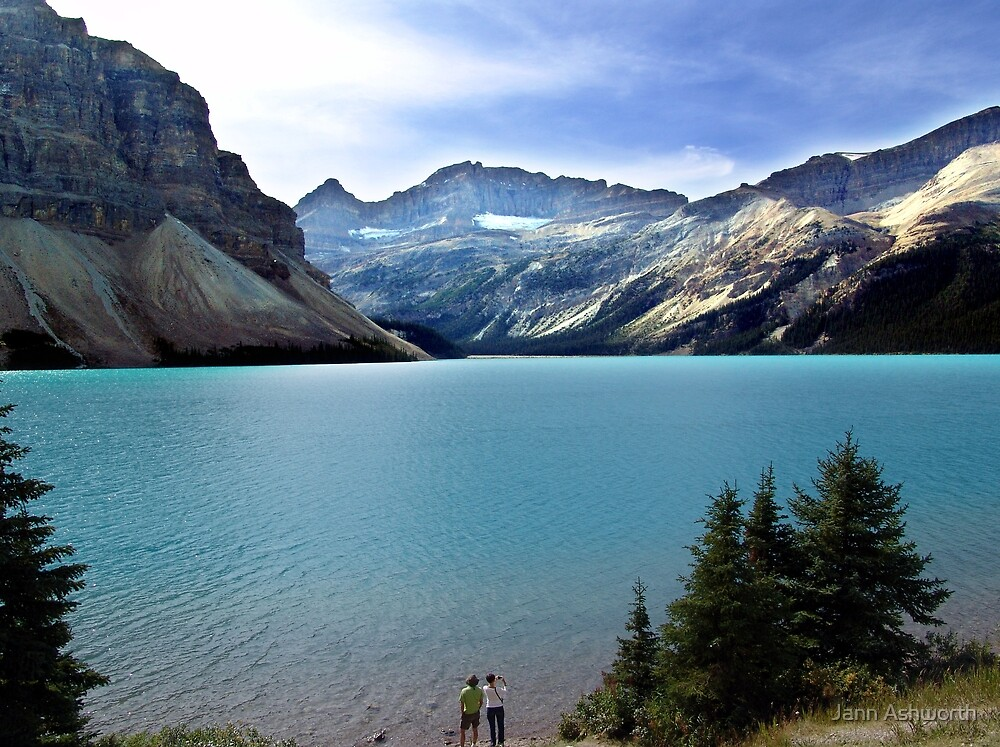 Bow Lake,Banff by Jann Ashworth