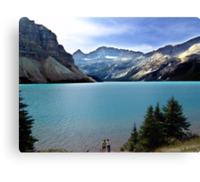 Bow Lake,Banff Canvas Print