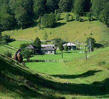 an inspiring Romania landscape by beautifulscenes