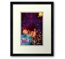 every gift is precious Framed Print