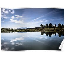 Lake Reflection in Jackson Hole Poster