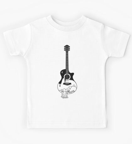 The intriguing sounds of nature Kids Tee