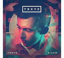 Troye Sivan - TRXYE Design Photographic Print