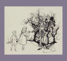 The Zankiwank & the Bletherwitch by Shafto Justin Adair Fitz Gerald art Arthur Rackham 1896 0181 A Sort of Skeleton Kids Tee