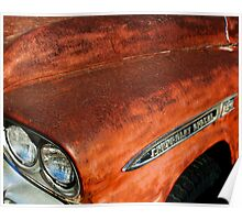 Chevy Apache Poster