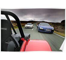 Caterham, Audi and Lotus .... Poster