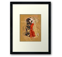 The Invention of the Kiss Framed Print