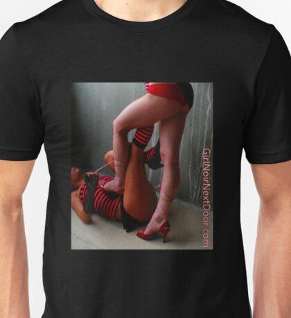 Tie My Shoe GirlNoirNextDoor T-Shirt Unisex T-Shirt