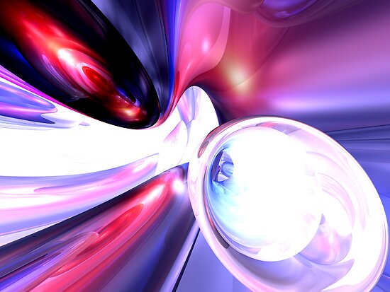 Elation Abstract by Alexander Butler
