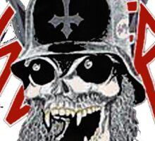 slatanic slayer fan club Sticker