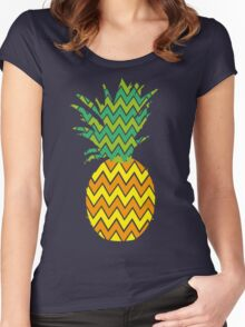 ananas Women's Fitted Scoop T-Shirt