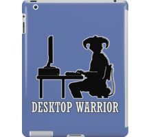Desktop Warrior iPad Case/Skin