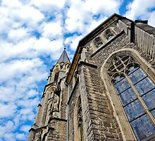 Aachen Cathedral by Jaime Pharr