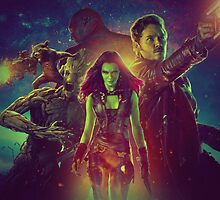 Guardians Of The Galaxy Design by boldndelicious