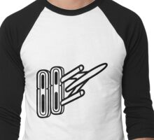 Oldsmobile Rocket 88 Badge Men's Baseball ¾ T-Shirt