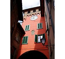 Building in Tuscany Photographic Print