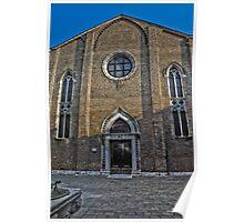 Venice church Poster