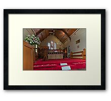 Our Lady of Yankalilla - Shrine Framed Print