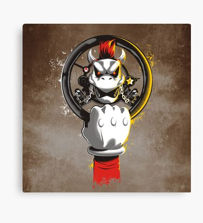 MAD KART Canvas Print