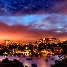 Sydney at Night by Bryan Freeman